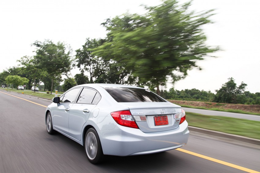 DRIVEN: 2012 Honda Civic FB (9th Gen) previewed in Thailand – not pretty, but handles brilliantly! Image #114541