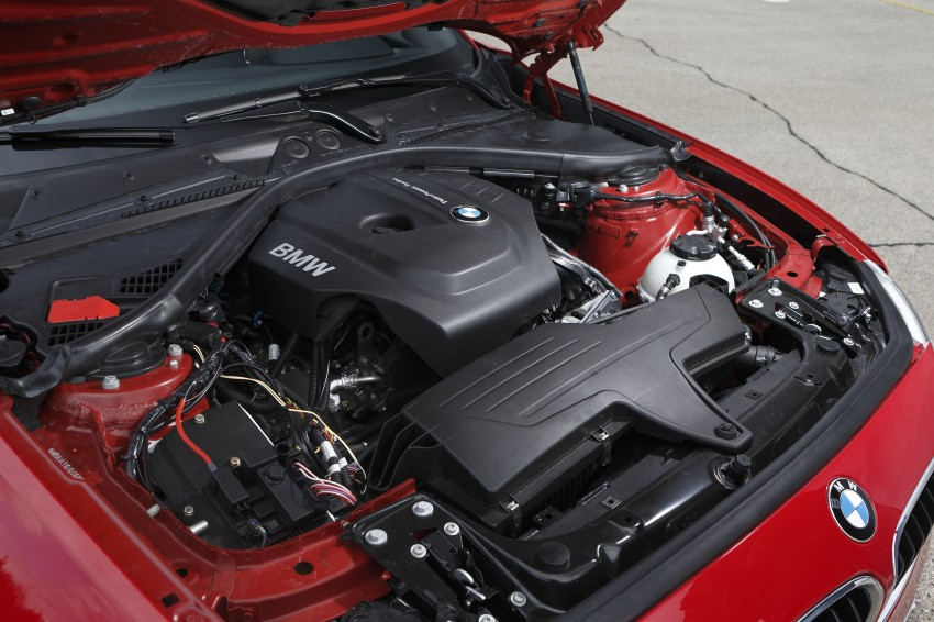 BMW's B38 1.5 litre three-cylinder motor to spearhead new engine family – we test drive it in a 1-Series! Image #132535