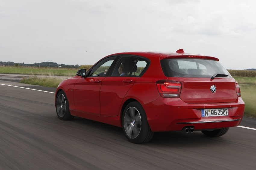 BMW's B38 1.5 litre three-cylinder motor to spearhead new engine family – we test drive it in a 1-Series! Image #132531