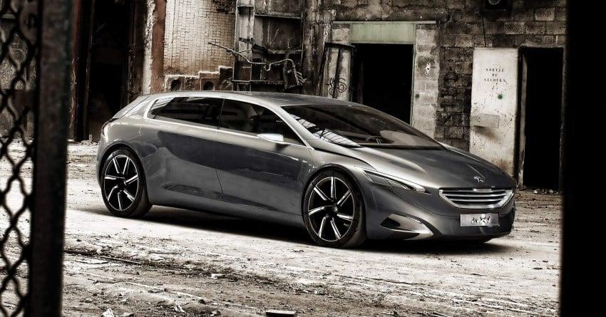 Peugeot HX1 Concept MPV to debut at Frankfurt 2011 Image #66098