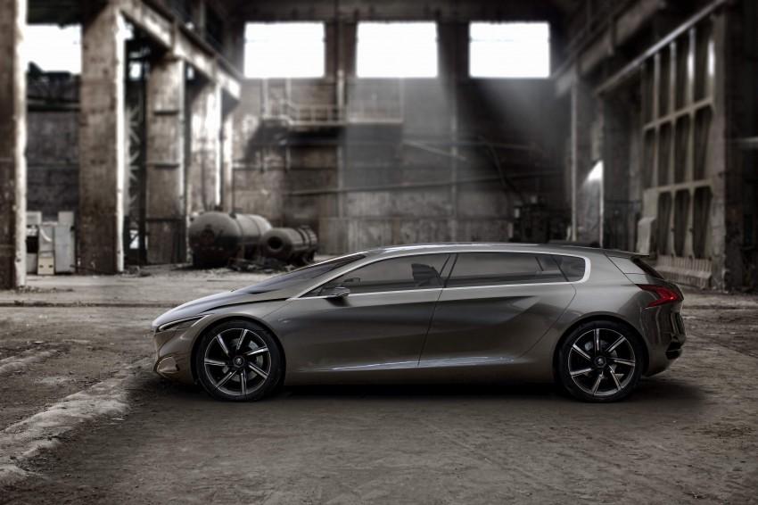 Peugeot HX1 Concept MPV to debut at Frankfurt 2011 Image #66105
