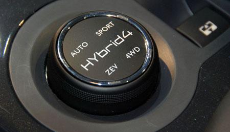 Peugeot 3008 HYbrid4, world's first diesel hybrid Image #44090