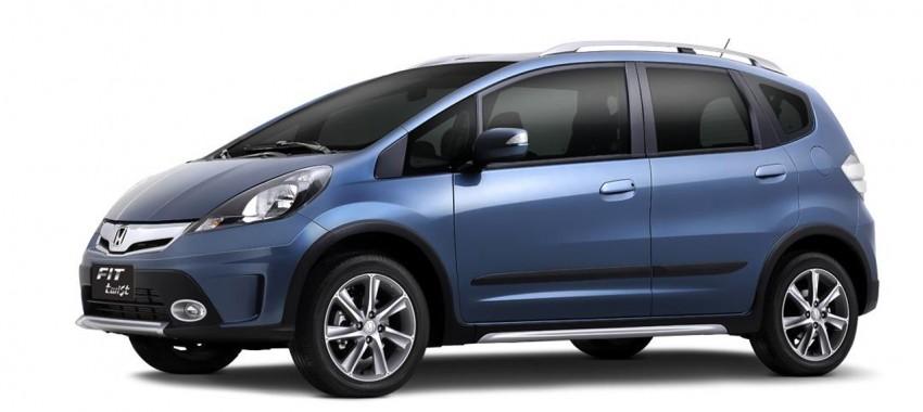 Honda Fit Twist – Brazil-exclusive SUV styled Jazz Image #137967