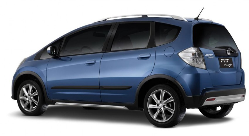 Honda Fit Twist – Brazil-exclusive SUV styled Jazz Image #137968