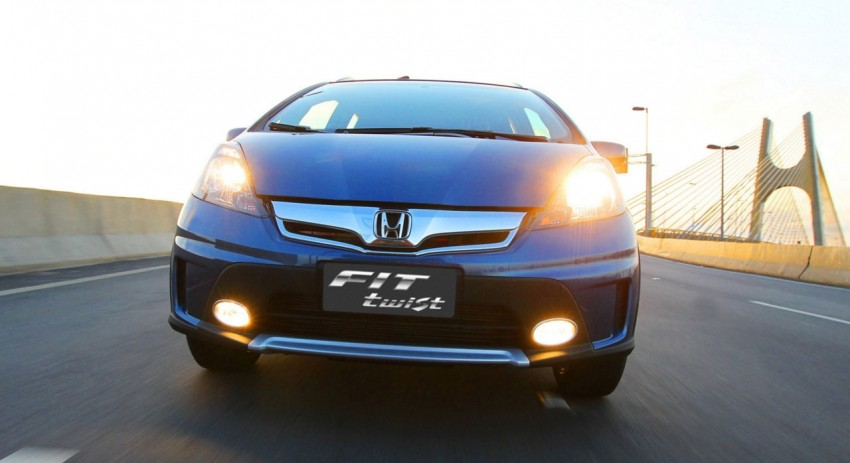 Honda Fit Twist – Brazil-exclusive SUV styled Jazz Image #137969