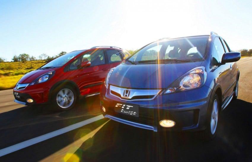 Honda Fit Twist – Brazil-exclusive SUV styled Jazz Image #137972
