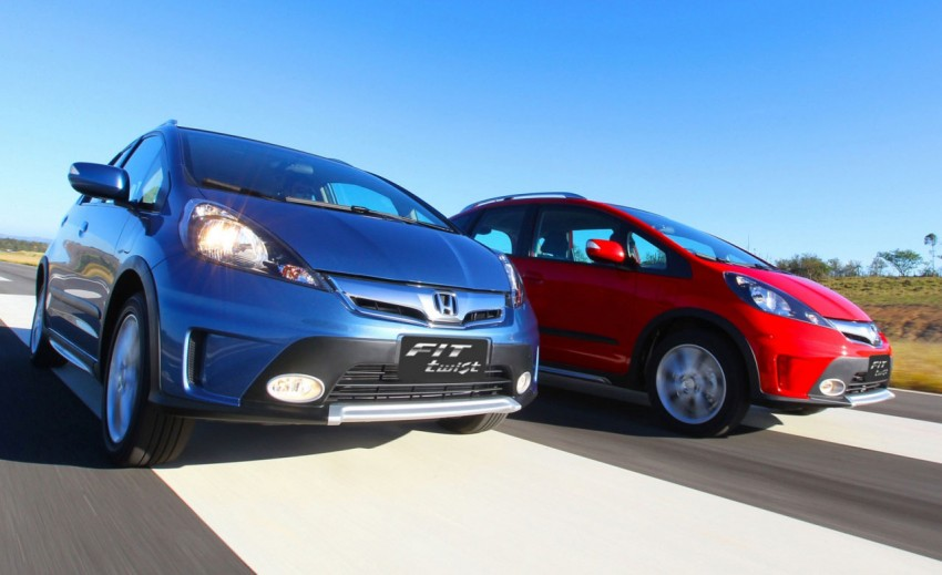 Honda Fit Twist – Brazil-exclusive SUV styled Jazz Image #137973