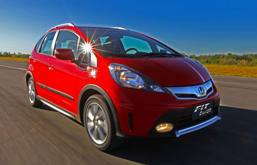 Honda Fit Twist – Brazil-exclusive SUV styled Jazz Image #137975