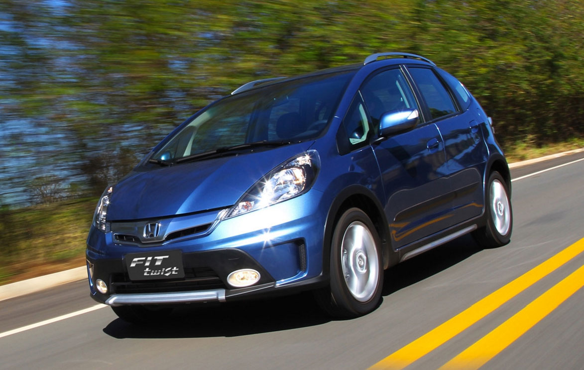 Back to Story: Honda Fit Twist – Brazil-exclusive SUV styled Jazz