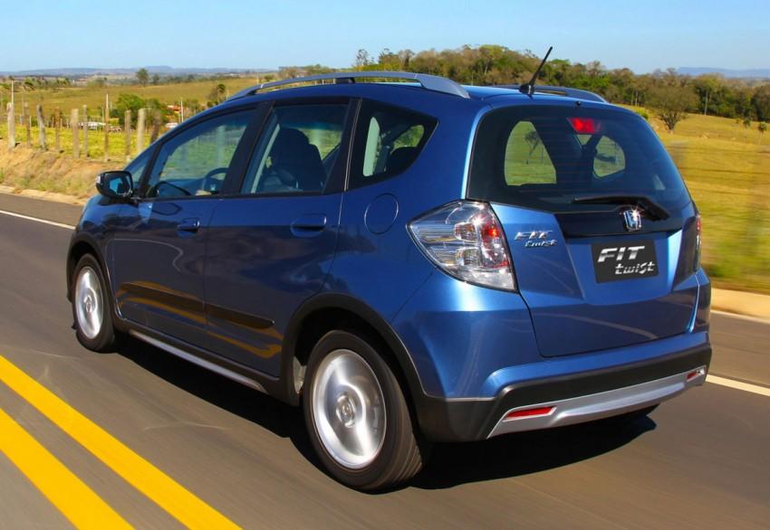 Honda Fit Twist – Brazil-exclusive SUV styled Jazz Image #137978