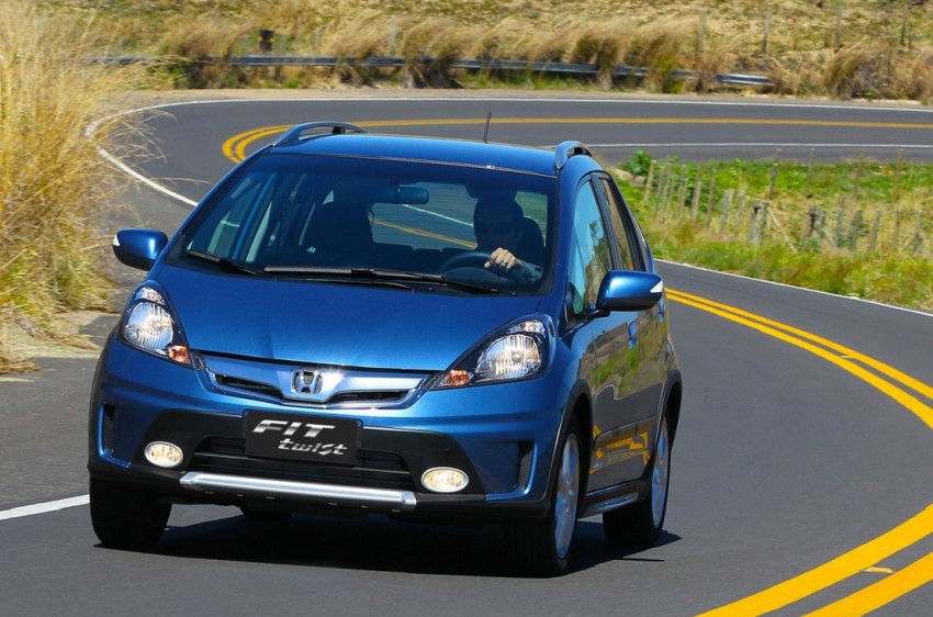 Honda Fit Twist – Brazil-exclusive SUV styled Jazz Image #137979