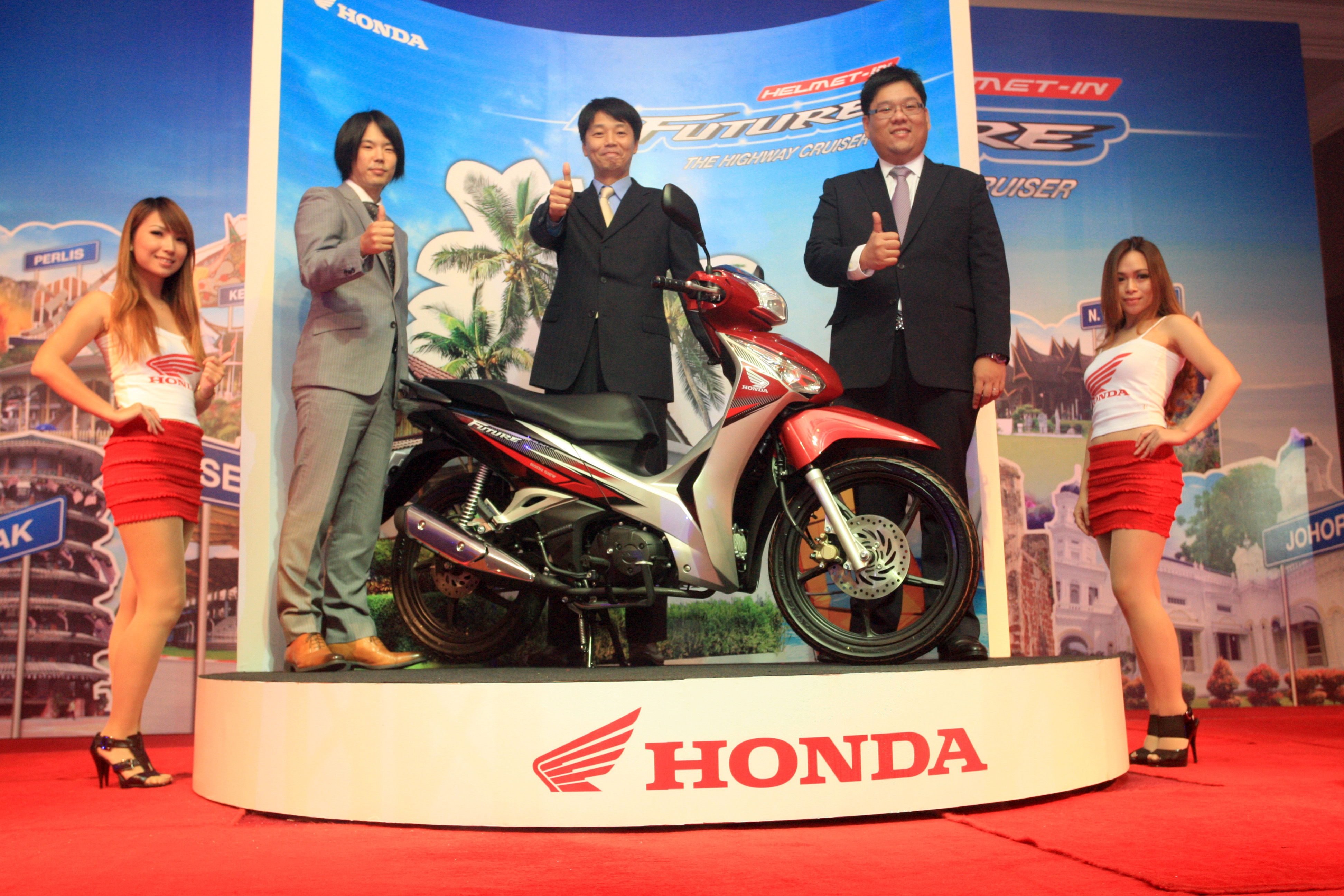 Boon Siew introduces the new 125cc Honda Future