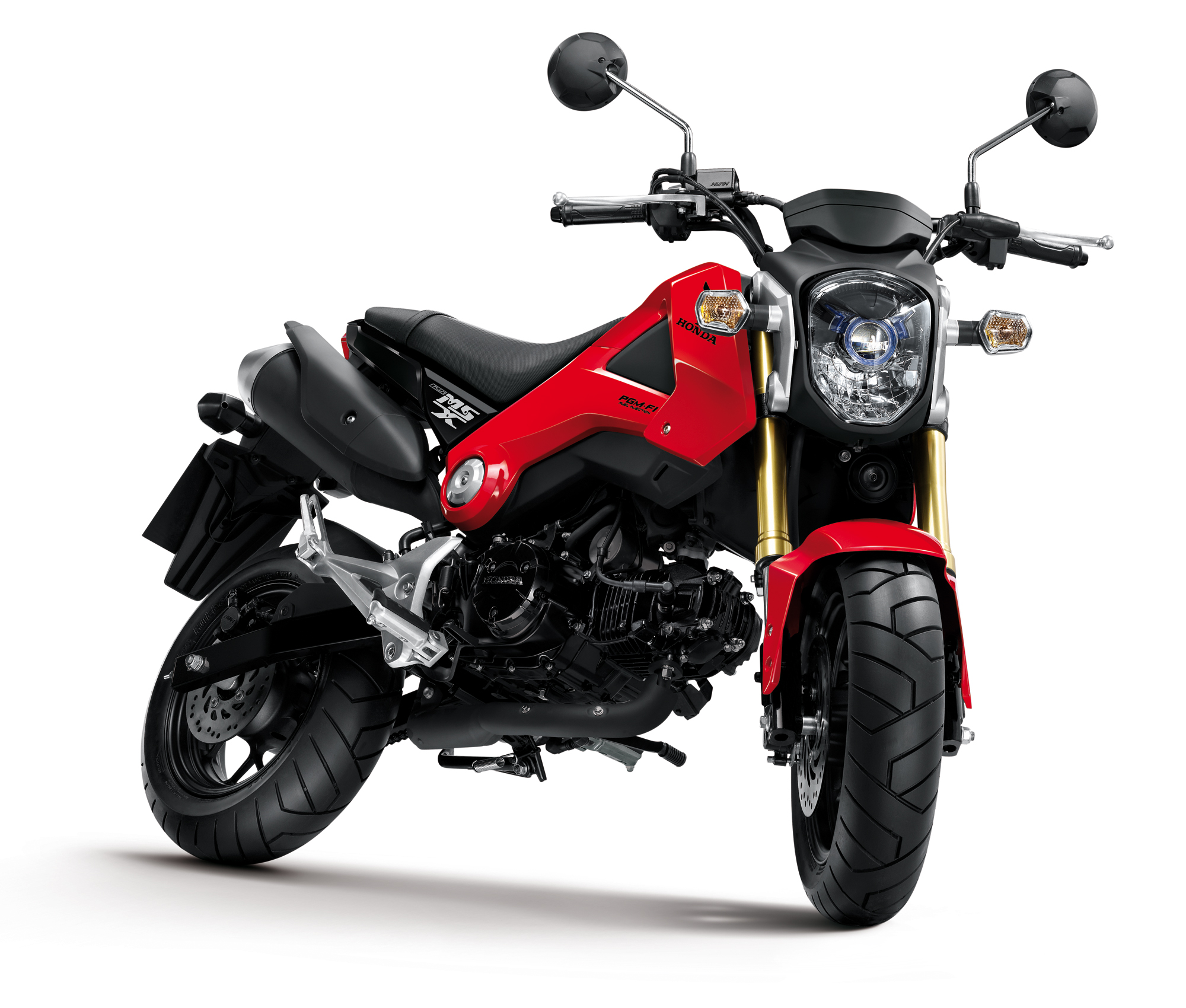 Honda MSX125 - new Monkey is made in Thailand