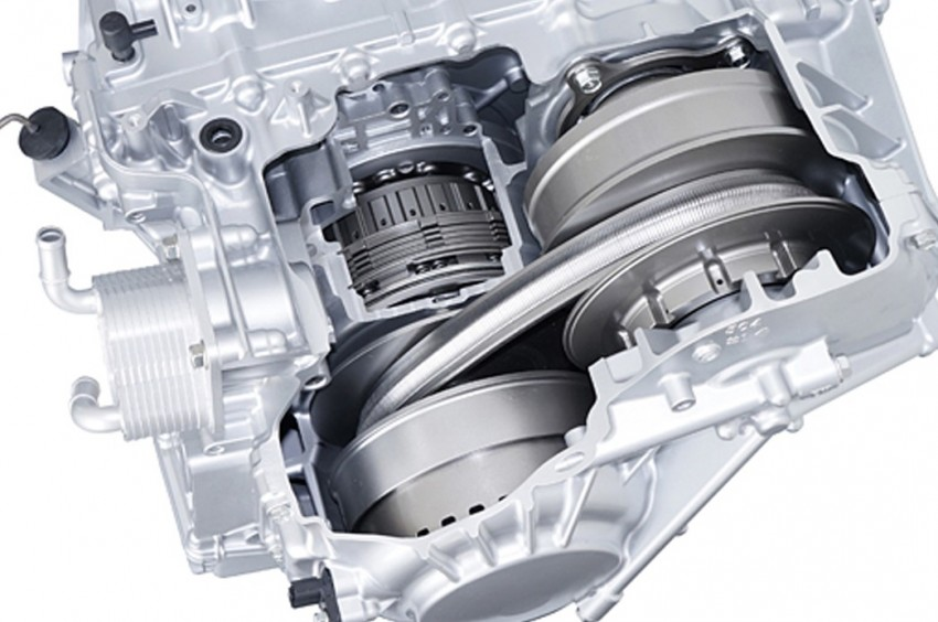 Honda develops new CVT, available with Step WGN Image #100931