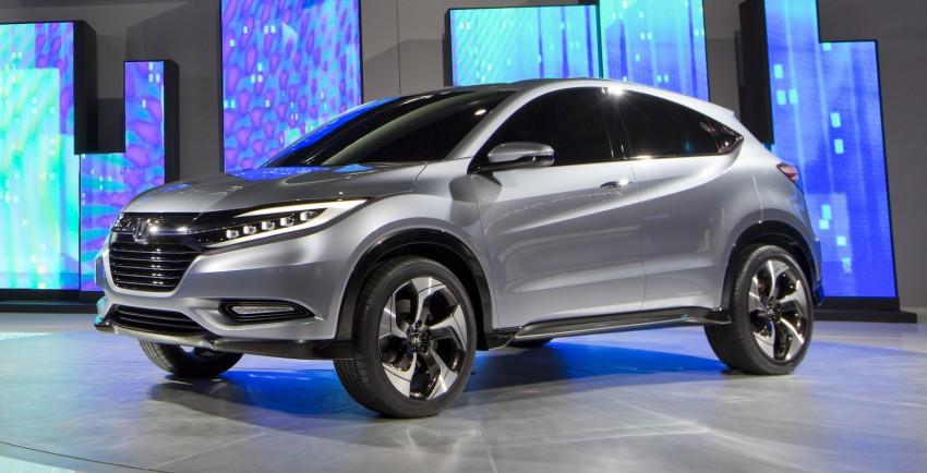Honda Urban SUV Concept previews Jazz-based SUV Image #149764