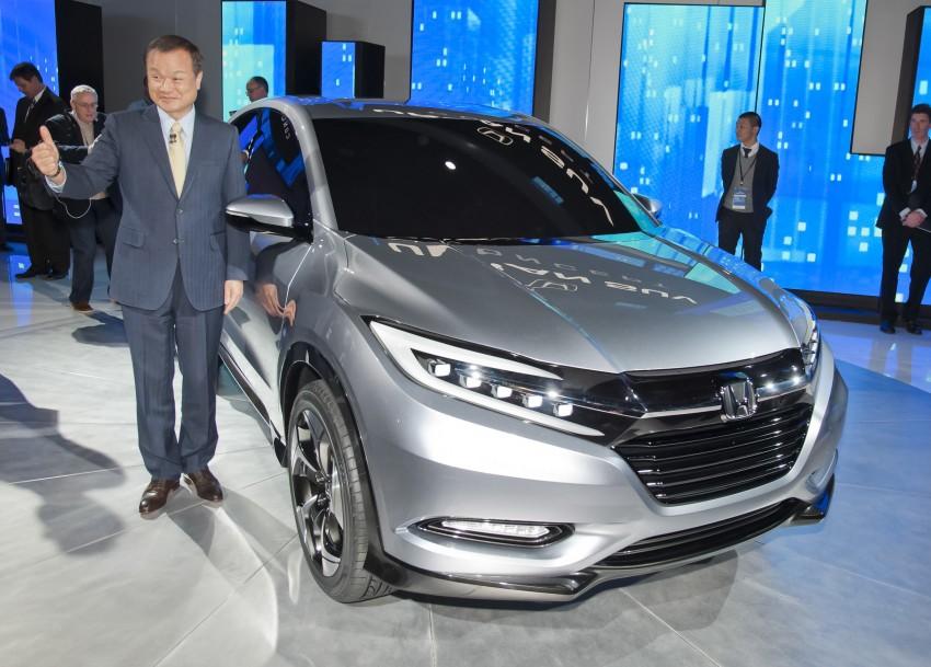 Honda Urban SUV Concept previews Jazz-based SUV Image #149770