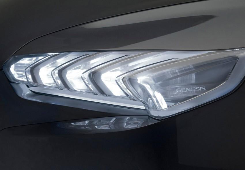 Hyundai HCD-14 Genesis Concept, RWD 4-door coupe Image #149985