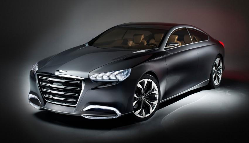 Hyundai HCD-14 Genesis Concept, RWD 4-door coupe Image #149987