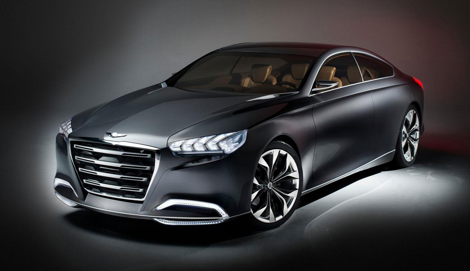 Hyundai Hcd 14 Genesis Concept Rwd 4 Door Coupe Paul Tan
