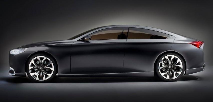 Hyundai HCD-14 Genesis Concept, RWD 4-door coupe Image #149988