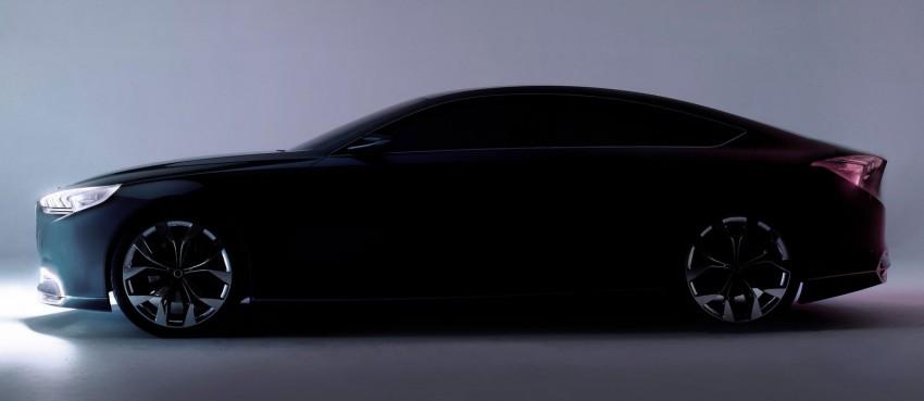 Hyundai HCD-14 Genesis Concept, RWD 4-door coupe Image #149989