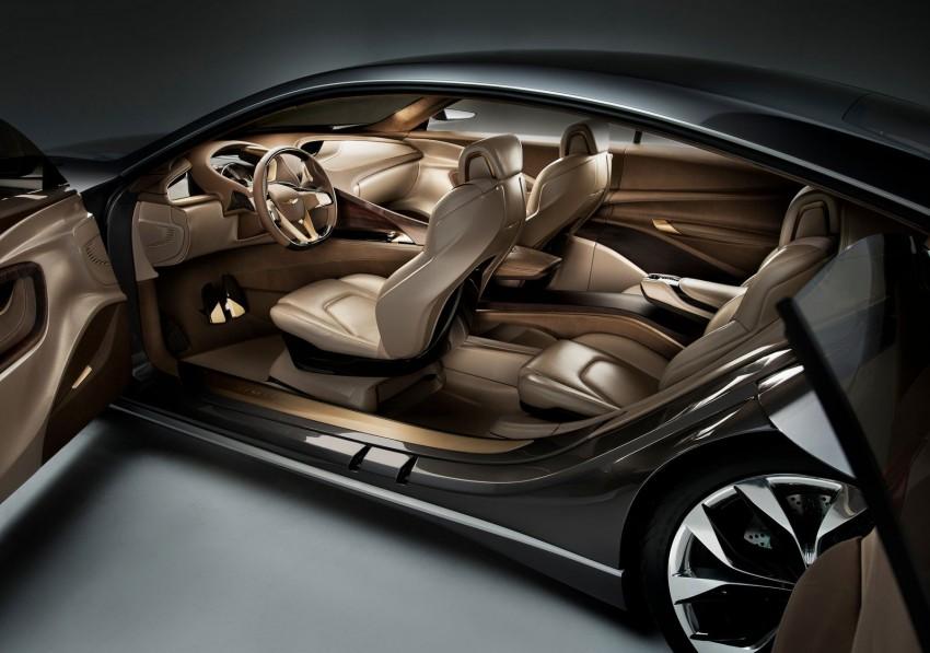 Hyundai HCD-14 Genesis Concept, RWD 4-door coupe Image #149995