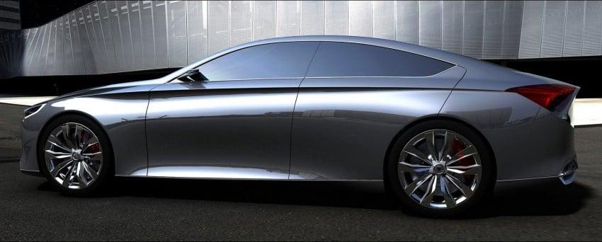 Hyundai HCD-14 Genesis Concept, RWD 4-door coupe Image #150002