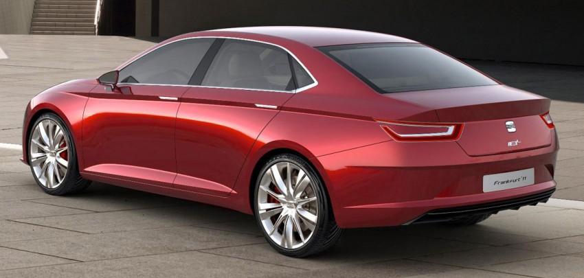Frankfurt: Seat IBL Concept – sleek Spanish sports sedan Image #68568