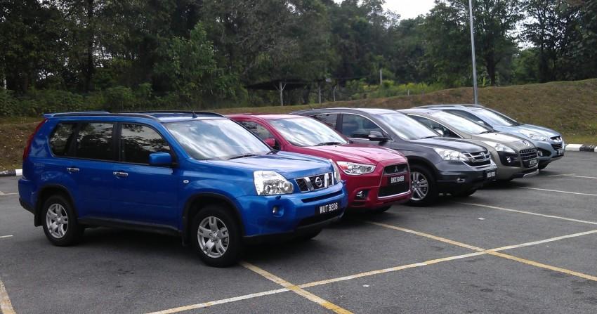 SUV shootout: Mitsubishi ASX vs Nissan X-Trail vs Honda CR-V vs Hyundai Tucson vs Peugeot 3008! Image #154088