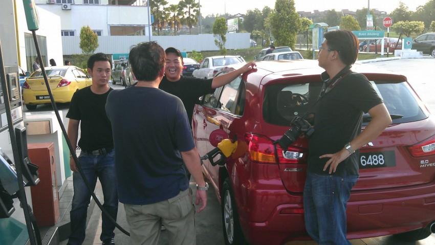 SUV shootout: Mitsubishi ASX vs Nissan X-Trail vs Honda CR-V vs Hyundai Tucson vs Peugeot 3008! Image #80454