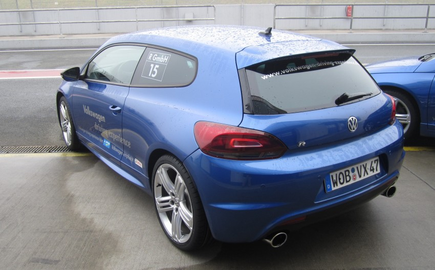 Volkswagen Golf R and Scirocco R siblings sampled Image #116391
