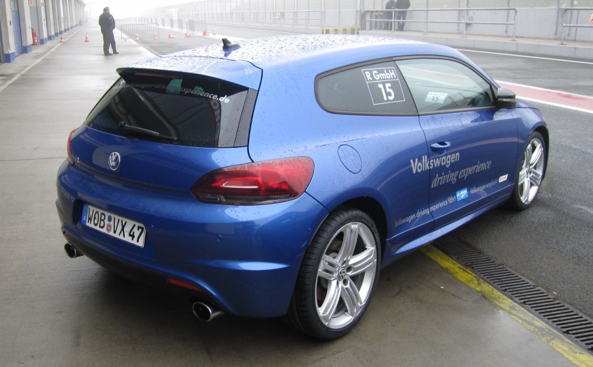 Volkswagen Golf R and Scirocco R siblings sampled Image #116393