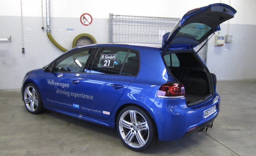 Volkswagen Golf R and Scirocco R siblings sampled Image #116398
