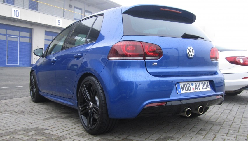 Volkswagen Golf R and Scirocco R siblings sampled Image #116404