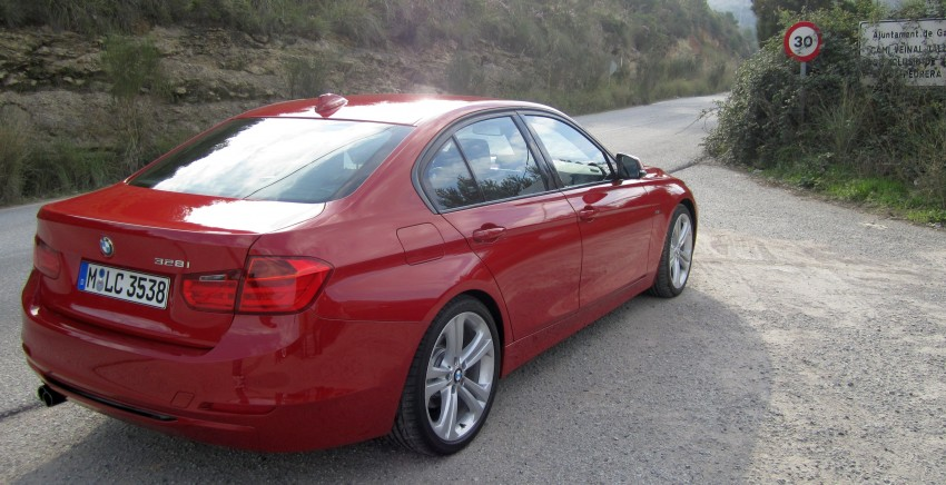 DRIVEN: BMW F30 3 Series – 320d diesel and new four-cylinder turbo 328i sampled in Spain! Image #85252