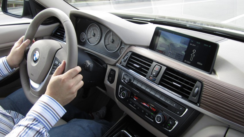 DRIVEN: BMW F30 3 Series – 320d diesel and new four-cylinder turbo 328i sampled in Spain! Image #85249