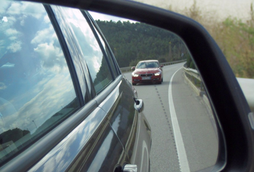 DRIVEN: BMW F30 3 Series – 320d diesel and new four-cylinder turbo 328i sampled in Spain! Image #85247