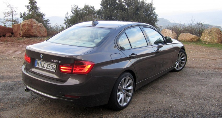 DRIVEN: BMW F30 3 Series – 320d diesel and new four-cylinder turbo 328i sampled in Spain! Image #85256