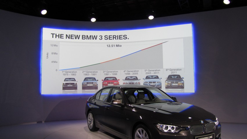 DRIVEN: BMW F30 3 Series – 320d diesel and new four-cylinder turbo 328i sampled in Spain! Image #85273