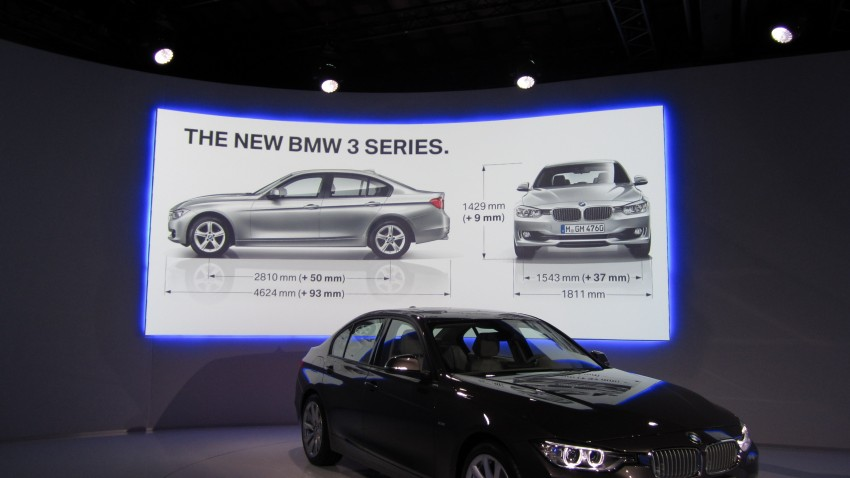 BMW F30 3-Series Test Drive Review – 320d diesel and new four cylinder turbo 328i sampled in Spain! Image #85271