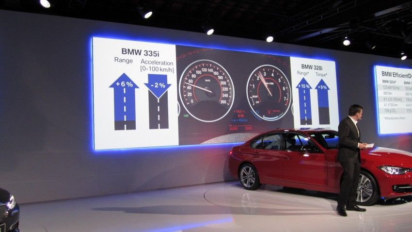 BMW F30 3-Series Test Drive Review – 320d diesel and new four cylinder turbo 328i sampled in Spain! Image #85270