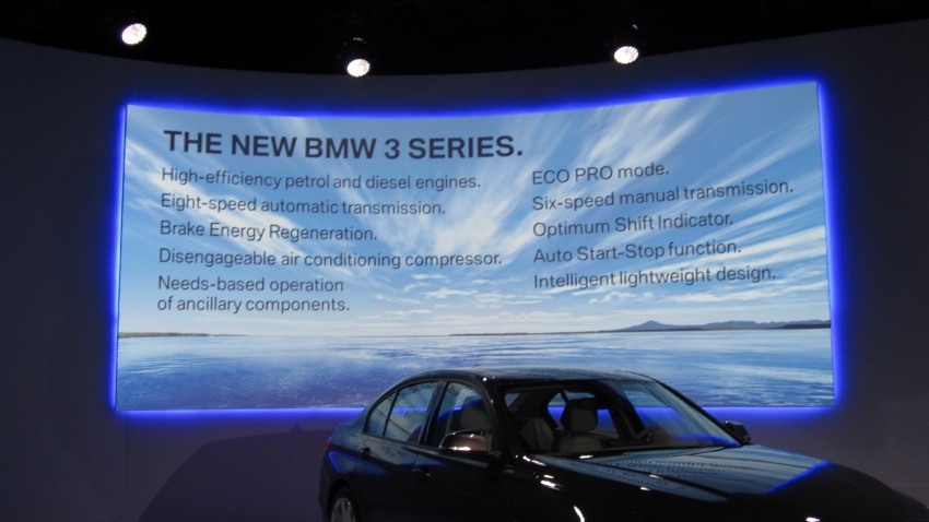 DRIVEN: BMW F30 3 Series – 320d diesel and new four-cylinder turbo 328i sampled in Spain! Image #85268