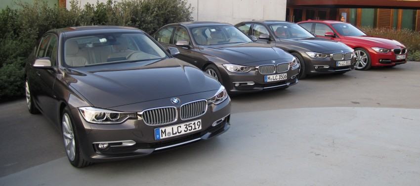 DRIVEN: BMW F30 3 Series – 320d diesel and new four-cylinder turbo 328i sampled in Spain! Image #85286