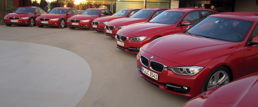 DRIVEN: BMW F30 3 Series – 320d diesel and new four-cylinder turbo 328i sampled in Spain! Image #85210
