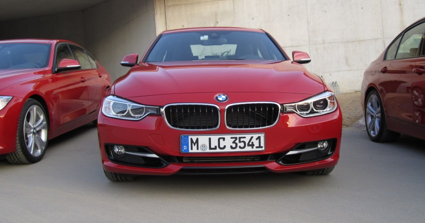 DRIVEN: BMW F30 3 Series – 320d diesel and new four-cylinder turbo 328i sampled in Spain! Image #85208