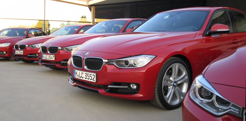 DRIVEN: BMW F30 3 Series – 320d diesel and new four-cylinder turbo 328i sampled in Spain! Image #85209