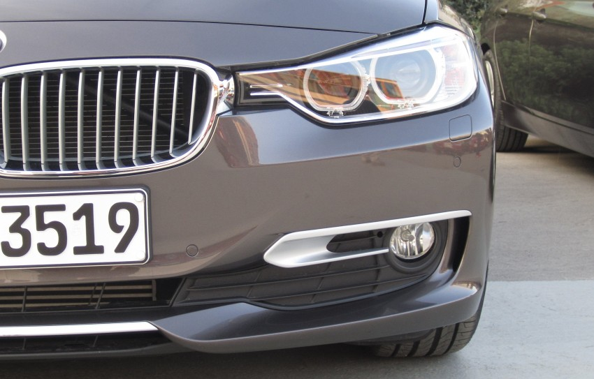 BMW F30 3-Series Test Drive Review – 320d diesel and new four cylinder turbo 328i sampled in Spain! Image #85187