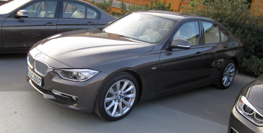 DRIVEN: BMW F30 3 Series – 320d diesel and new four-cylinder turbo 328i sampled in Spain! Image #85188