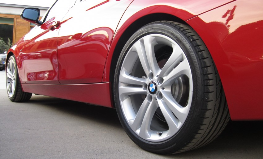 DRIVEN: BMW F30 3 Series – 320d diesel and new four-cylinder turbo 328i sampled in Spain! Image #85185