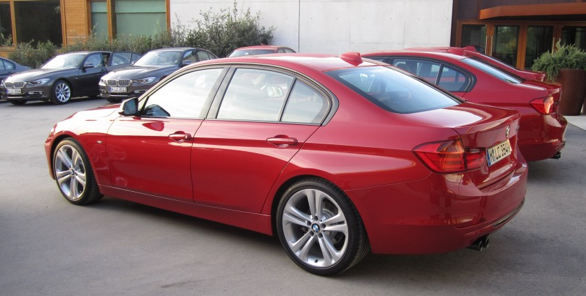 DRIVEN: BMW F30 3 Series – 320d diesel and new four-cylinder turbo 328i sampled in Spain! Image #85182